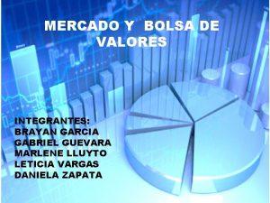 BOLSA DE VALORESY BOLSA DE MERCADO VALORES INTEGRANTES