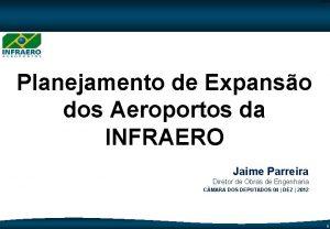 CodeP 0 Planejamento de Expanso dos Aeroportos da