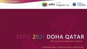 Doha Expo 2021 Bidda Park EXPO 2021 DOHA