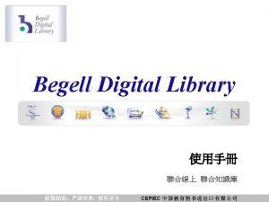 Begell Digital Library Begell Digital Library Begell Digital