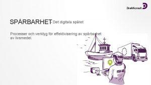 SPRBARHET Det digitala spret Processer och verktyg fr