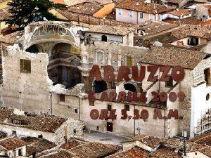Un boato terribile squarcia la terra il terremoto