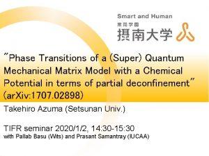 Phase Transitions of a Super Quantum Mechanical Matrix