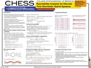 Reachability Analysis for Discrete Time Stochastic Hybrid Systems