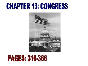 Congress is Americas First Branch of Government Congress