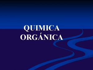 QUIMICA ORGNICA I INTRODUCCIN A LA QUIMICA ORGNICA