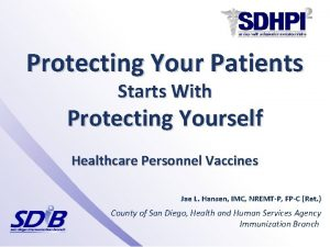 Protecting Your Patients Starts With Protecting Yourself Healthcare
