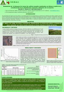Estimacin de la biomasa de races de cultivos