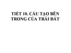 TIT 10 CU TO BN TRONG CA TRI