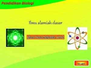 Pendidikan Biologi Ilmu alamiah dasar Much Fuad Saifuddin