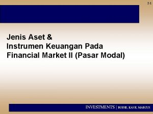 2 1 Jenis Aset Instrumen Keuangan Pada Financial