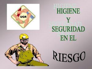 RIESGO ELECTRICO INSTALACIONES ELECTRICAS Las instalaciones y equipos