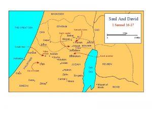 MANASSEH Saul And David 1 Samuel 16 27