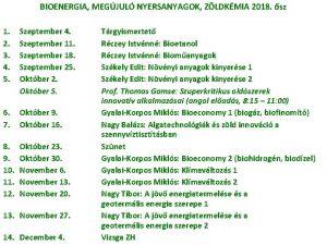 BIOENERGIA MEGJUL NYERSANYAGOK ZLDKMIA 2018 sz 1 2