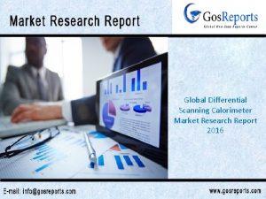Global Differential Scanning Calorimeter Market Research Report 2016