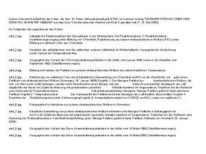 Dieses Dokument enthlt die Folien die Herr Th