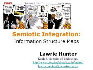 Semiotic Integration Information Structure Maps Lawrie Hunter Kochi