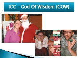 ICC God Of Wisdom GOW ICC God Of
