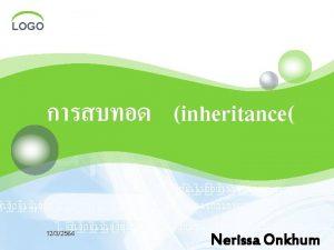 LOGO inheritance 1232564 Nerissa Onkhum LOGO 1232564 LOGO