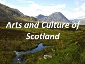 Arts and Culture of Scotland Art in Scotland