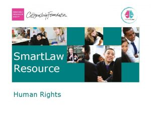 Smart Law Resource Human Rights Human Rights Lesson