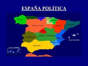ESPAA POLTICA GALICIA Situacin Galicia limita con Asturias