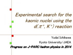 www net Experimental search for the kaonic nuclei