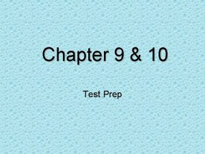 Chapter 9 10 Test Prep African Americans struggle