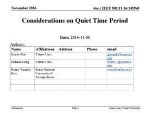November 2016 doc IEEE 802 11 161459 r