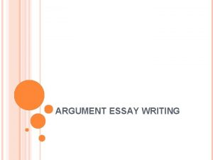 ARGUMENT ESSAY WRITING THESIS STATEMENTS A thesis statement