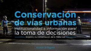 Conservacin de Infraestructura Qu es conservacin Conjunto de