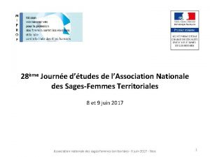 28me Journe dtudes de lAssociation Nationale des SagesFemmes