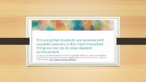 A Voice that Matters Engaging Students and Families