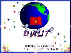 Trng THCS Tam Hip GV Nguyn Th Thy