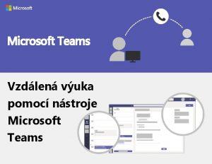 Microsoft Teams Vzdlen vuka pomoc nstroje Microsoft Teams