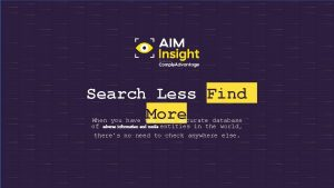 Search Less Find More When you have the