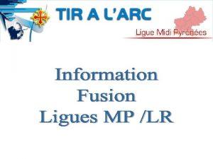Fusion Ligue Un Territoire Une nouvelle Ligue La
