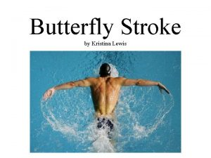 Butterfly Stroke by Kristina Lewis Introduction Butterfly is