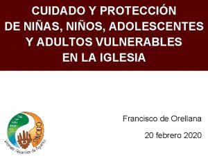 CUIDADO Y PROTECCIN DE NIAS NIOS ADOLESCENTES Y