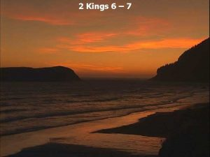 2 Kings 6 7 2 Kings 6 1