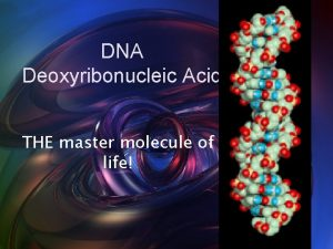 Free Power Point Backgrounds DNA Deoxyribonucleic Acid THE