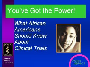 Youve Got the Power What African Americans Should