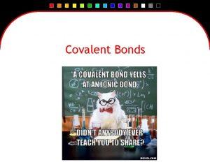 Covalent Bonds Ionic Bond Review An ionic bond