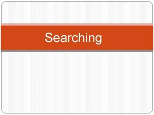 Searching Linear Sequential Search array or list by