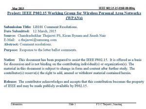 IEEE 802 15 15 0260 00 004 q