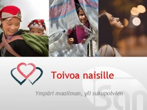 Toivoa naisille Ympri maailman yli sukupolvien TWR Women
