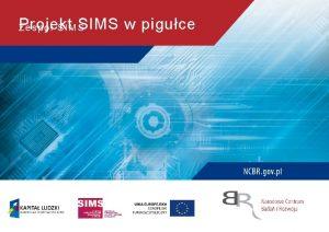 Projekt SIMS w piguce Zesp SIMS Skd wzi