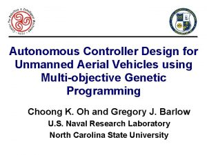 Autonomous Controller Design for Unmanned Aerial Vehicles using