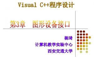 3 1 l l GDI Graphics Device InterfaceGDI