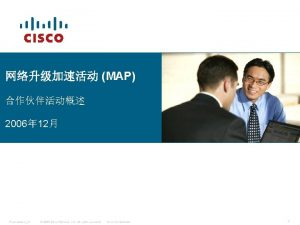 MAP 2006 12 PresentationID 2006 Cisco Systems Inc